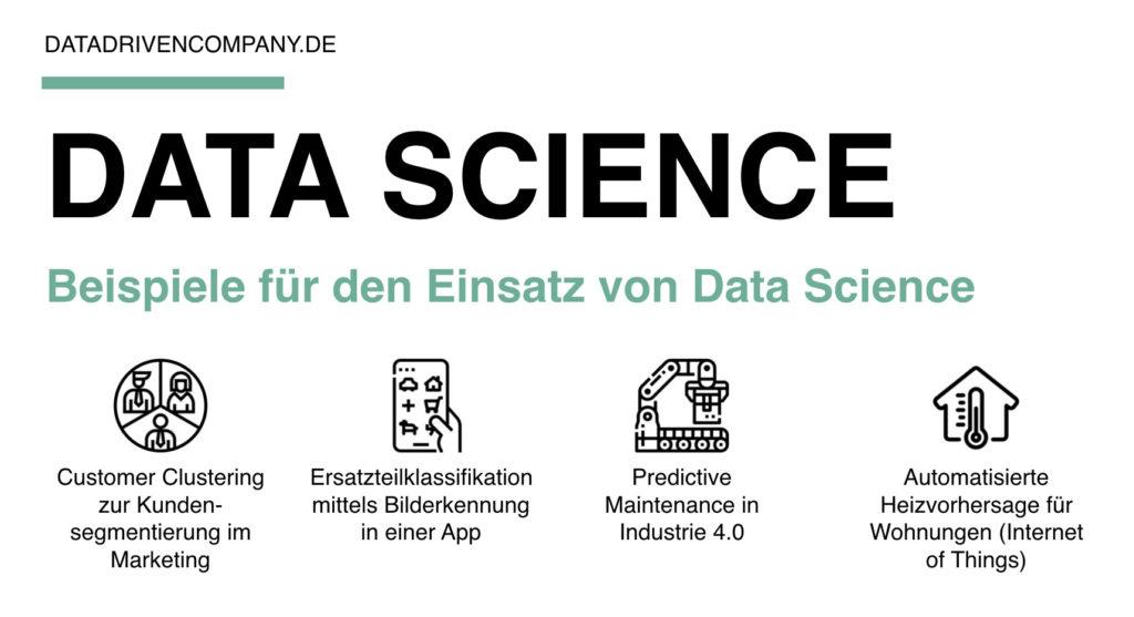 Beispiele für den Einsatz von Data Science